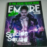 Empire Magazine December  2015 suicide squad meet the Joker
